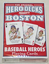 product image for Channel Craft Hero Decks - Boston Red Sox - Playing Cards