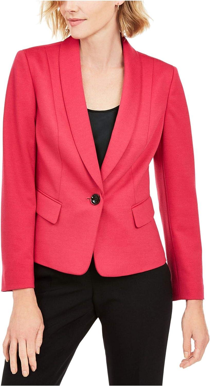 Kasper Womens Petites Suit Separate Business One-Button Blazer