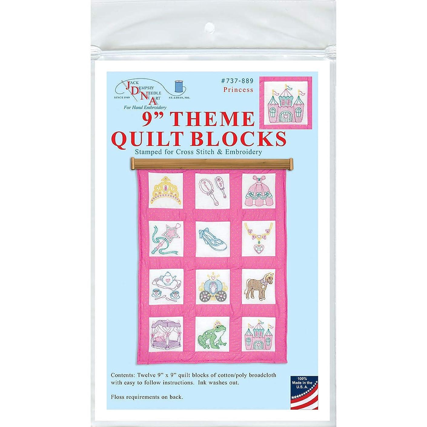 Jack Dempsey JDN737.889 Quilt Blocks 9