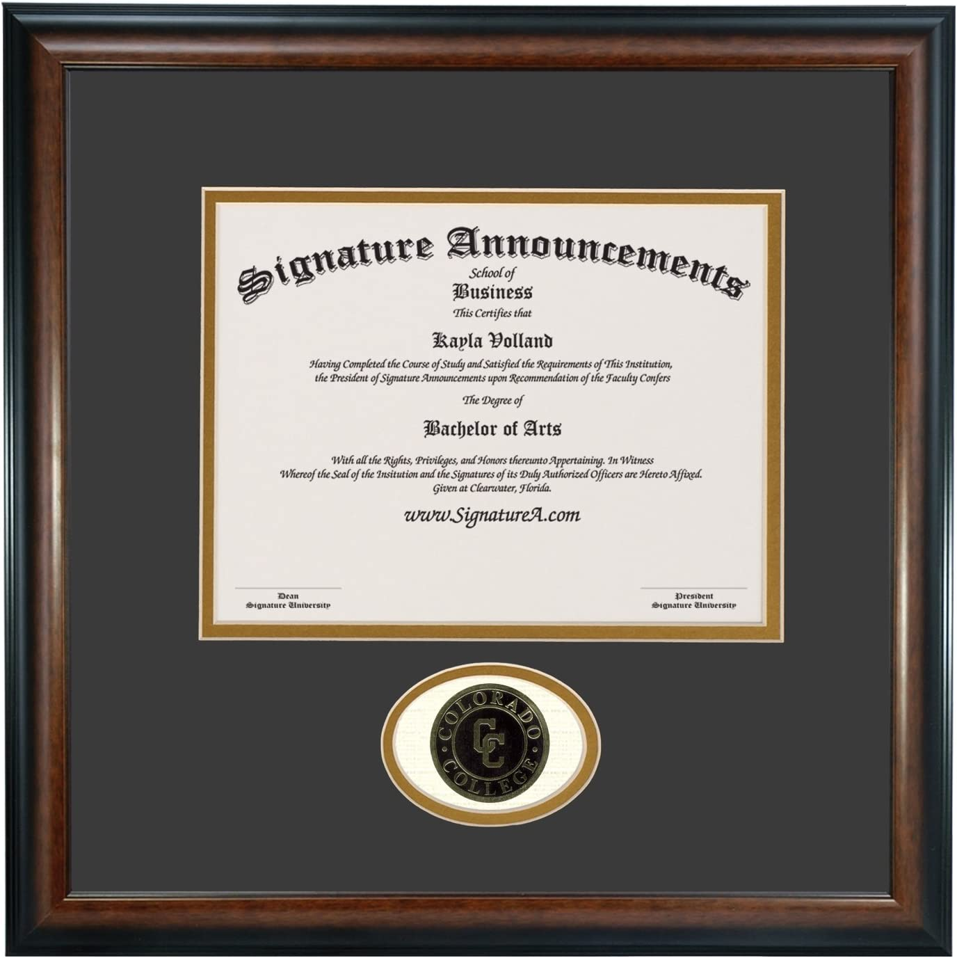 Signature Latest item Announcements Colorado-College Sculpted Undergraduate Elegant