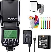 Godox V860II-C E-TTL HSS 1/8000s 2.4G GN60 Li-ion Battery Camera Flash Speedlite Light..