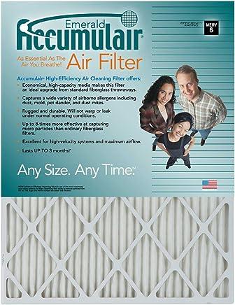 20x22x1 Actual Size Accumulair Platinum Filter MERV 11 4-Pack