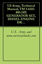 US Army, Technical Manual, TM 5-6115-400-24P, GENERATOR SET, DIESEL ENGINE DRIVEN, 200 KW, 60 CYCLE, AC, 120/208V, 240/416V, 3 PHASE CONVERTIBLE TO 167
