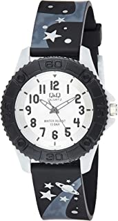 Q&Q Kids Waterproof Watch In Black [Vq96J013Y], Analog Display
