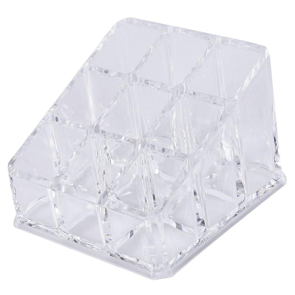 Nrpfell アクリルリップスティック収納ボックス化粧品のための透明