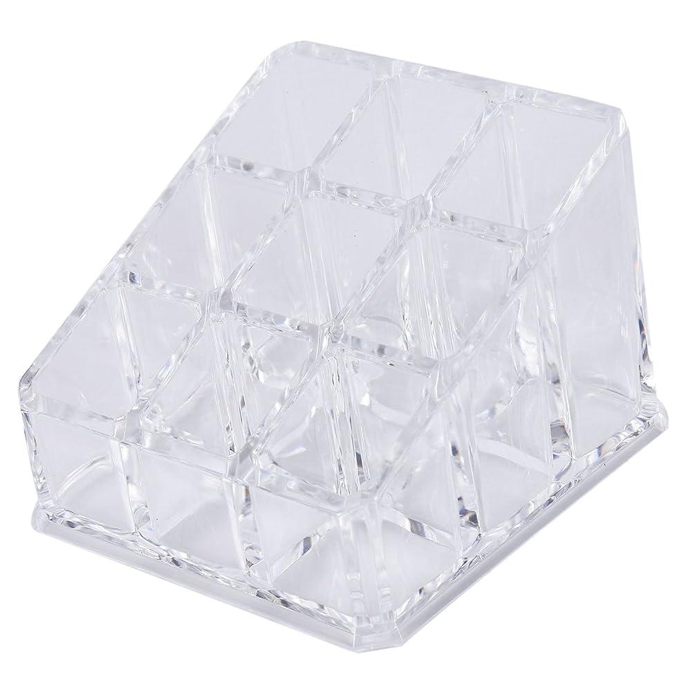 視力メダリストモードNrpfell アクリルリップスティック収納ボックス化粧品のための透明