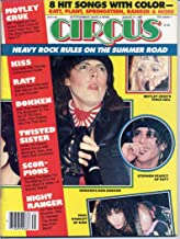 Circus Magazine DOKKEN Motley Crue KISS CENTERFOLD Scorpions TWISTED SISTER Ratt NIGHT RANGER August 1985 C (Circus Magazine)