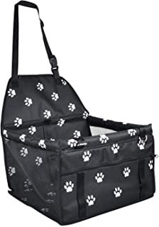 Autositz für Hunde, tragbar, mit Sicherheitsleine und Hundedecke, ideal für kleine Haustiere