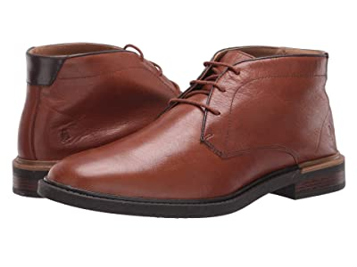 Hush Puppies Davis Chukka Boot (Cognac Leather) Men