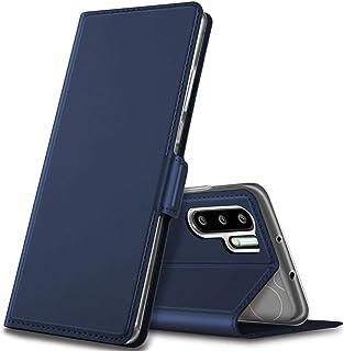 Kugi Huawei P30 Pro Case,  Flip Case Cover for Huawei P30 Pro, Blue