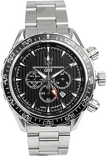 [HYAKUICHI 101] ヒャクイチ 腕時計 GMT ダイバーズウォッチ 20気圧防水 アクアテラ モデル クロノグラフ メンズ