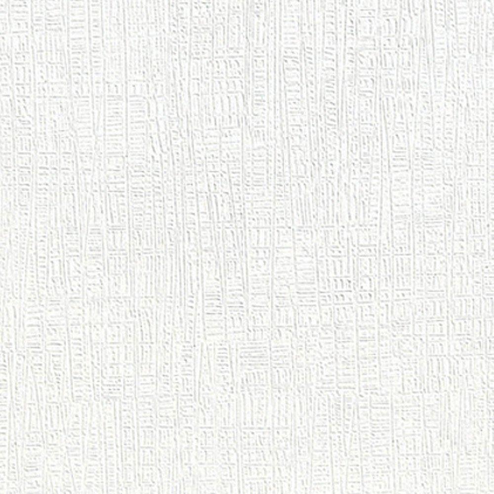 一回テクスチャー推論壁紙 シール 白 【ホワイト無地の貼ってはがせる壁紙シール】 幅50cm×15m単位 クロス のり付き リメイクシート 壁紙 シール ブリック