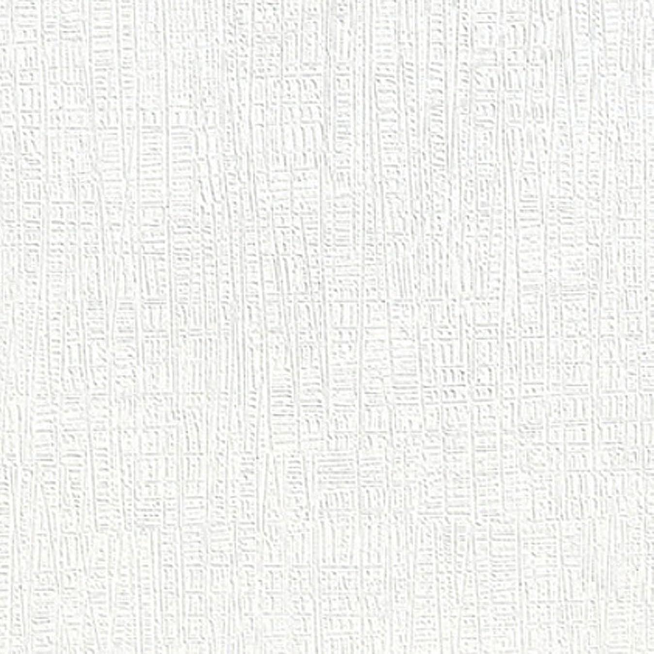 殺します味わう嵐が丘壁紙 シール 白 【ホワイト無地の貼ってはがせる壁紙シール】 幅50cm×15m単位 クロス のり付き リメイクシート 壁紙 シール ブリック