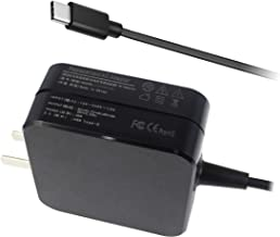 BE·SELL 20V 2.25A/45W AC Charger Adapter for Asus ADL-45A1 ADP-45EW A ADP-45EW C ADP-45XE B Asus Q325UA-BI7T18 AsusPro B9440UA-GV9102T B9440UA-GV9103T B9440UA-XS51 B9440UA-XS74 Zenbook 3 UX390UA UX3