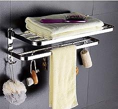 Wieszak na ręczniki wieszaki na ręczniki do łazienki, drążek na ręczniki wieszak na ręczniki polerowany 304 stal nierdzewn...