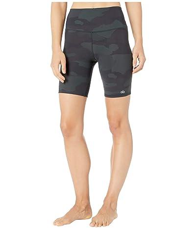 ALO High-Waist Vapor Shorts (Hunter Camouflage) Women