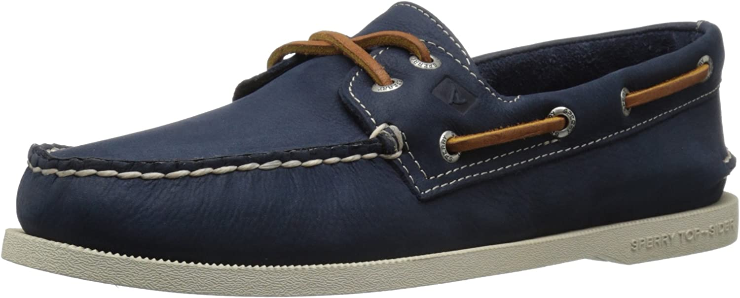 Sperry Mens A O 2-Eye Cross Lace Boat shoes