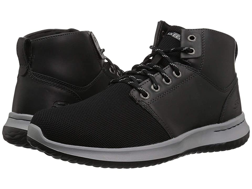 SKECHERS Delson Velmo (Black) Men