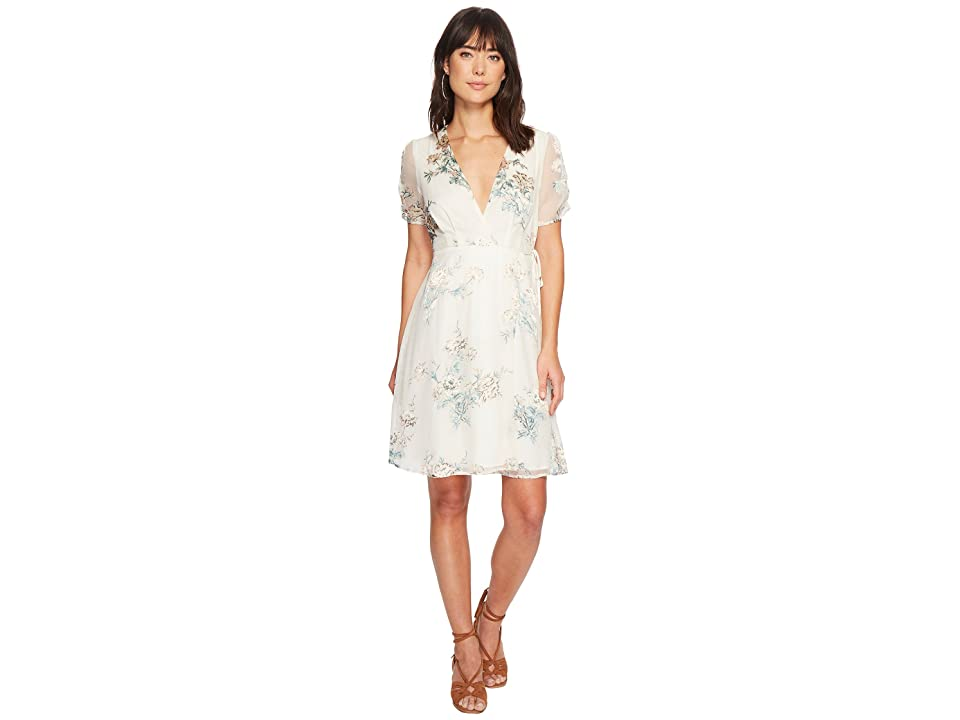 ASTR the Label Melody Dress (Cream/Blush Floral) Women