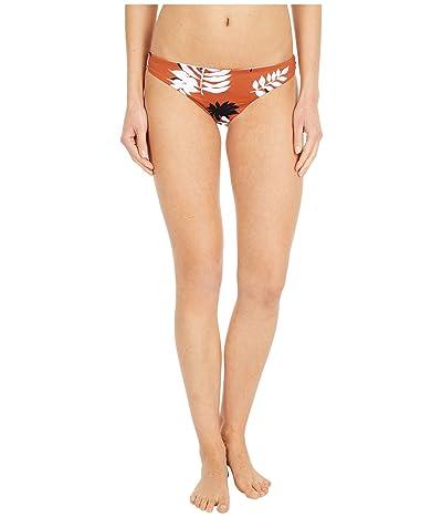 Roxy Honey Moderate Bikini Bottoms (Auburn Savana) Women
