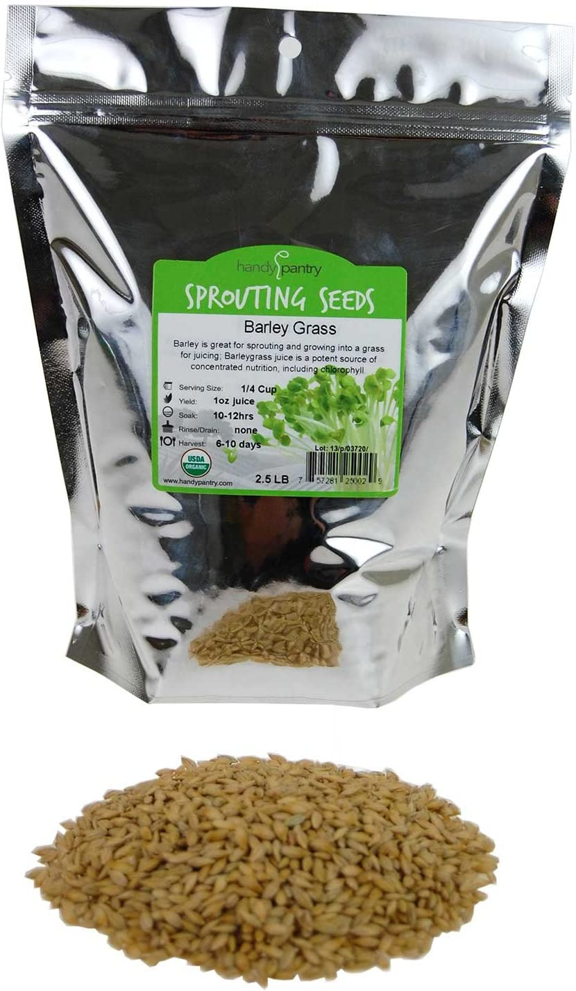 All stores are sold Handy Pantry Organic Barley San Diego Mall Grass - Hull Whole Barleygr Intact