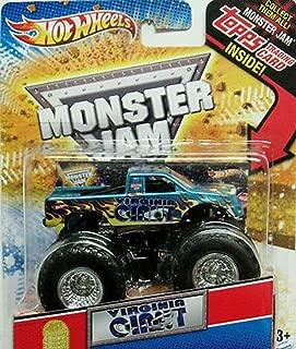 Hot Wheels Virginia Giant Monster Jam Truck 1:64