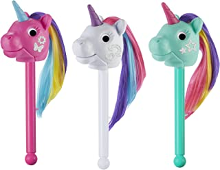 Educational Insights Rainbow Prancers Puppet-on-a-Stick, Box Of 3