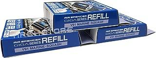 Eikosha Air Spencer Giga Clip Refill 3-Box Marine Squash Scent, Design for GIGA Clip, Clipia, Clipia II, Bijou, Cross, LuxDry, Rijoure Refill