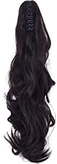 """24"""" Deep Curly Claw Jaw Ponytail Extension Long Wavy Synthetic Hair Extensions Ponytail"""