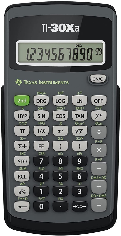 TI-30Xa Scientific Calculator 10-Digit LCD Max 53% OFF Superlatite Sold Each 2 as