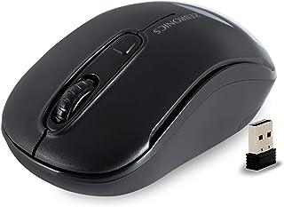 Zebronics Zeb -Dash Wireless Optical Mouse(Black)