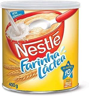 Nestle Farinha Lactea Cereal Flour 400g (14.11 Oz)