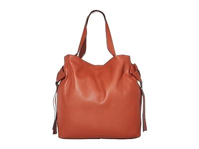 Vince Camuto Cyra Tote (Warm Spice) Handbags