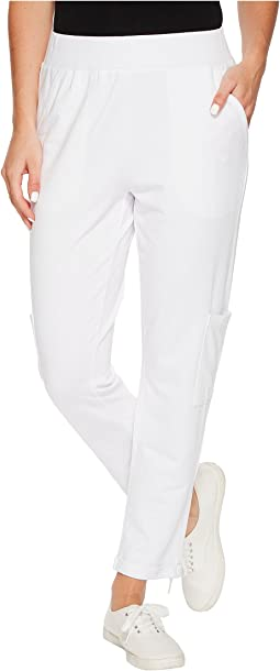 Cotton Modal Spandex French Terry Cuffed Capris