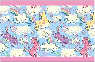 I-love-Wandtattoo Sticker mural B//02?016/Chambre Frise Dinosaure Motif Animal rouleaux de papier peint enfant Rayures XXL H/öhe 15 cm; Breite 5 m