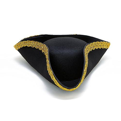b5b432d8 Dazzling Toys Colonial Tricorn Revolutionary War - Pirate Hat 1 Per Pack