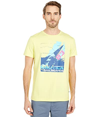 Nautica Fashion Tee (Yellow) Men