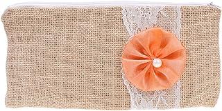 D DOLITY Hot Sale Flower Lace Bridal Bridesmaid Clutch Makeup Bag Wedding Party Supplier