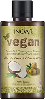 Leave-in Vegan com Óleo de Coco e Oliva, Inoar, 300 ml