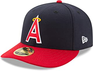(ニューエラ) NEW ERA ロサンゼルス エンゼルス 【1977 TURN-BACK-THE-CLOCK LOW CROWN 59FIFTY FITTED】LOS ANGELES ANGELS [並行輸入品]