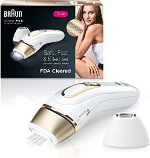 Braun IPL Hair Removal for Women Silk Expert Pro 5 PL5137 with Venus Swirl Razor FDA Cleared Permanent Reduction in Hair R...