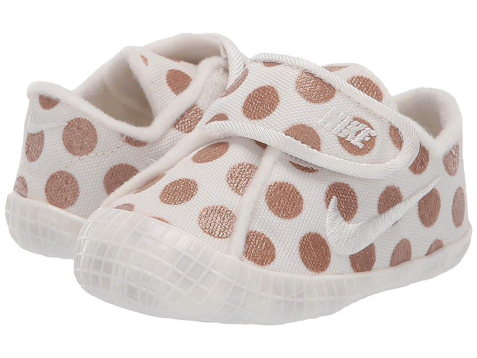 Nike Kids Waffle 1 Print (Infant/Toddler) (Sail/Sail/Metallic Red Bronze) Girls Shoes