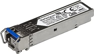 StarTech.com 1000BASE-BX Upstream SFP Transceiver Module - 1 Gbps - 10 km - MSA Compliant Fiber SFP