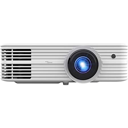 Optoma UHD52ALV True 4K UHD Smart Projector | Super Bright 3500 Lumens | HDR10 + HLG Support | Works with Alexa and Google Assistant | Voice Command | Support IFTTT, White