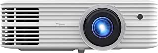 Optoma UHD52ALV True 4K UHD Smart Projector | Super Bright 3500 Lumens | HDR10 + HLG Support | Works with Alexa and Google Assistant | Voice Command | Support IFTTT, Black