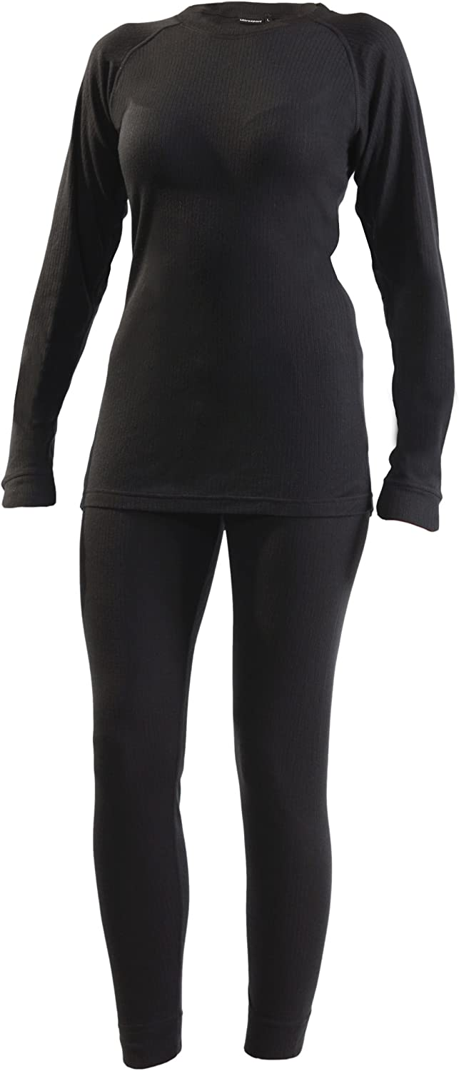 Ultega Women's Thermal Underwear Set with Quick-Dry Function