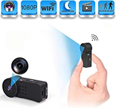 GXSLKWL Spy Camera Wireless Hidden, WiFi Full HD 1080P Portable Mini Nanny Cam with Night Vision and Motion Detection, Per...