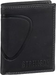 Strellson Billfold V8 22/31/01616-900, Portefeuilles et porte-monnaies homme - Noir - V.9 - taille unique