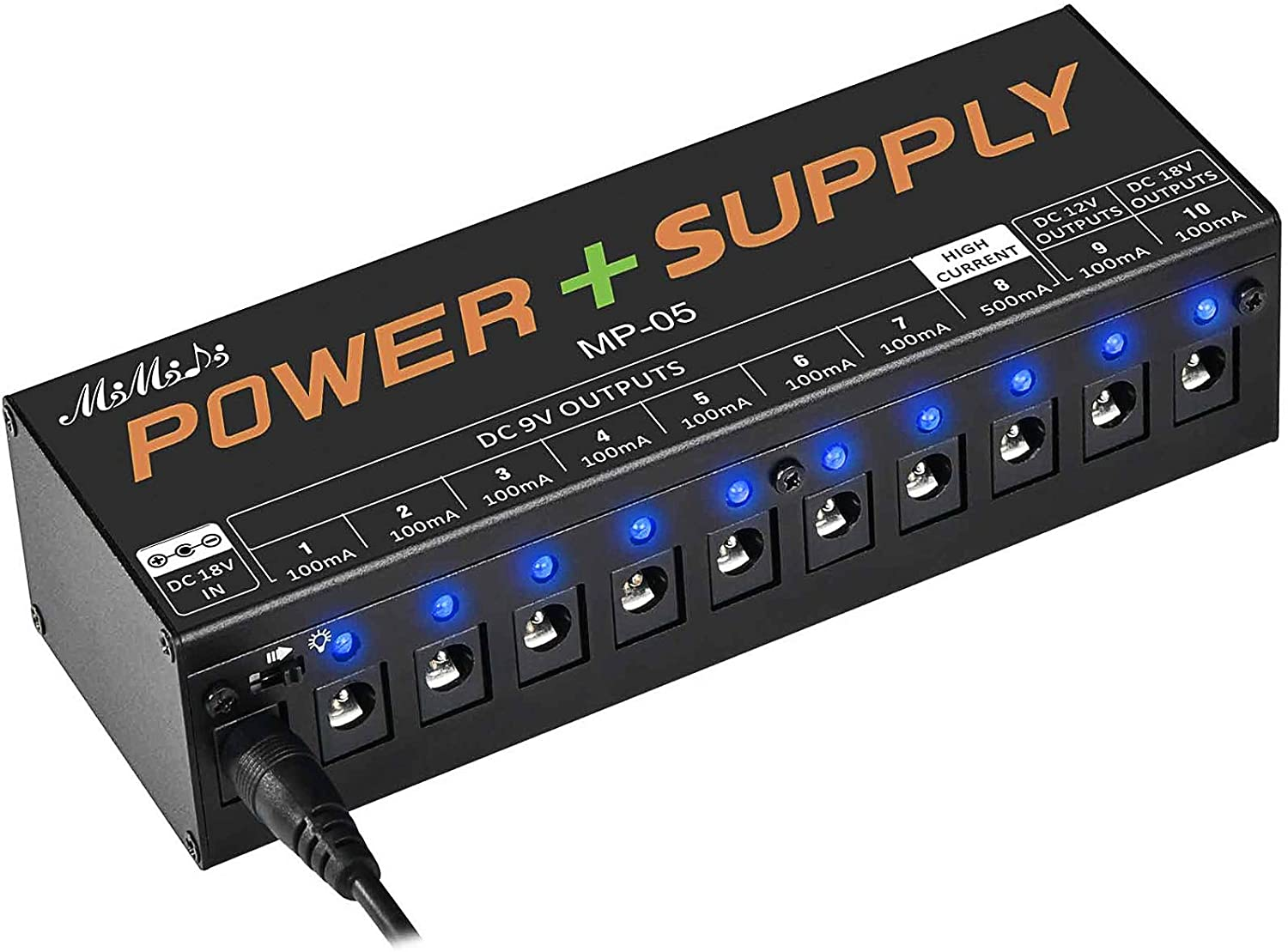 MIMIDI Guitar Pedal Industry No. 1 Power Supply DC Manufacturer OFFicial shop Board Output 10