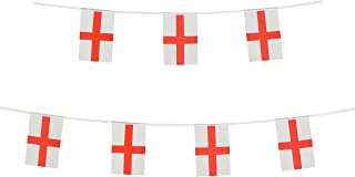 LoveVC England Flag, 100 Feet English Flag National Country World Pennant Banner Flags,International Party Decorations for World Cup,Olympics,School Sports Events